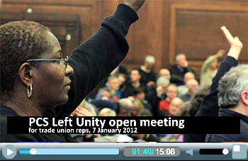 PCS Left Unity meeting