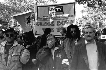 1993 demostration, photo D. Sinclair