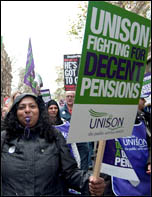 N30: two million public sector workers went on strike on 30 November 2011, photo by Paul Mattsson