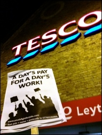 Multi-billion pount retailer Tesco, photo Suzanne Beishon