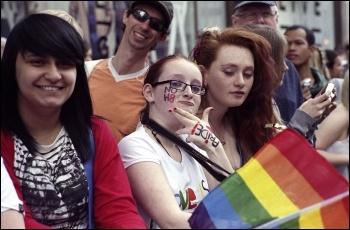 Fight homophobic and transphobia, photo Paul Mattsson