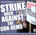 Strike back against the con-dems