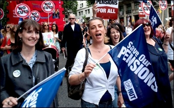Women have formed the majority on the historic 2011 UK public sector strikes. 30 June coordinated strike action by the PCS civil service union and NUT, ATL and UCU teaching unions.