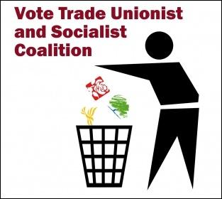 Vote Trade Unionist and Socialist Coalition