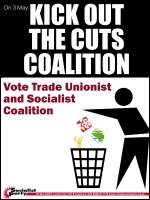 Kick out the cuts Coalition