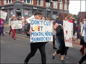 Leeds Pride 2011, photo Leeds Socialist Party