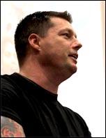Joe Simpson, Prison Officers Association assistant general secretary, speaking at Socialism 2011 , photo Paul Mattsson