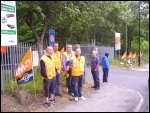 Strike at Sheffield Dump It sites, photo Alistair Tice