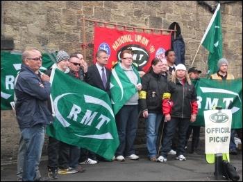 Tyne & Wear Metro strike, 7.6.12