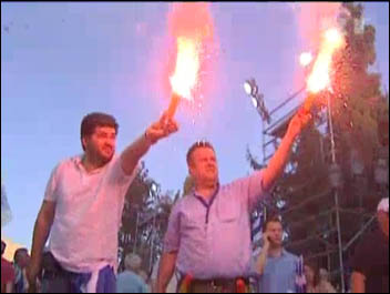 Greece: protests during general election 18 June 2012, photo RT free video