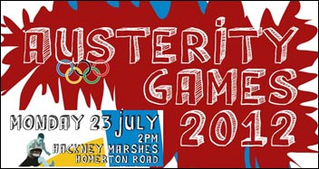 Austerity Games, artwork by Suzanne Beishon