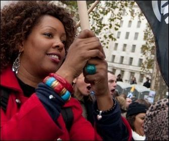 30 November 2011 public sector strike, photo by Paul Mattsson