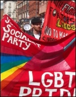 Leeds Pride 2011 , photo Leeds Socialist Party