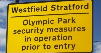 Westfield Stratford: Olympic Park security measures in operation