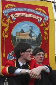 Durham Miners Gala 2012, photo Paul Mattsson