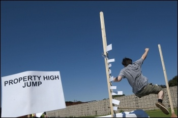 Property High Jump at the YFJ Austerity Games, 23.7.12 ,  photo by Paul Mattsson