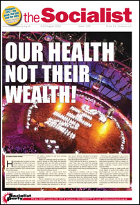 The Socialist, 9th August 2012