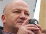 Bob Crow, General Secretary, RMT, photo by Sujeeth