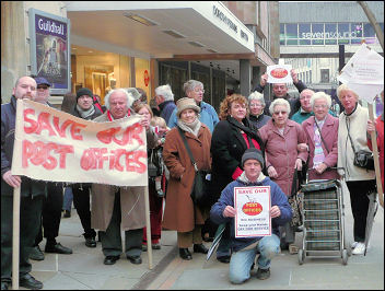 Gloucester campaigns against post office closures