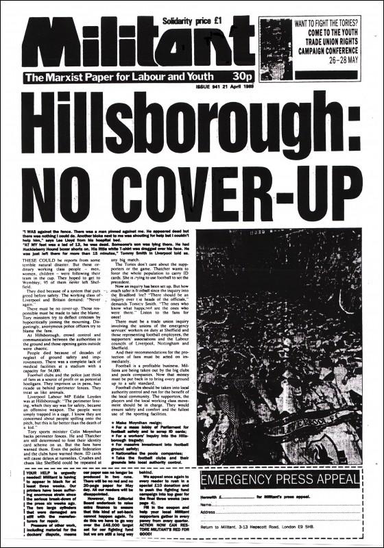 Socialist Party Hillsborough Verdict A Magnificent Testimony To