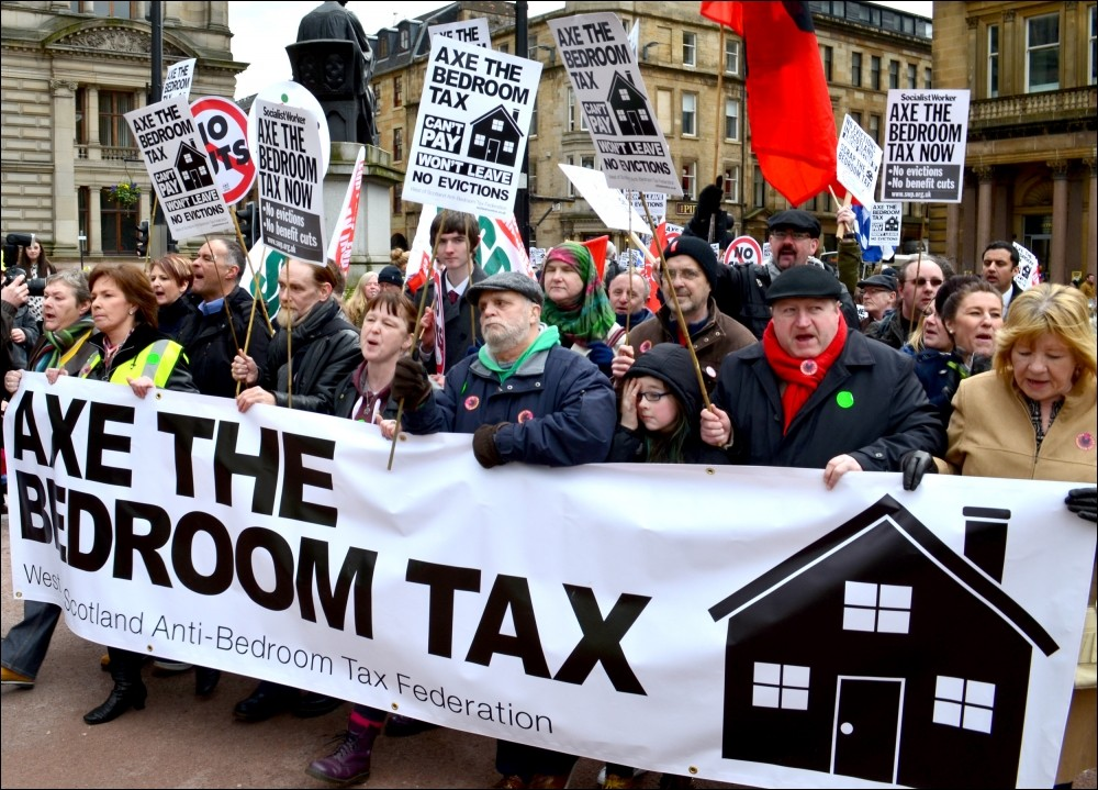 Socialist Party Time To Strike The Bedroom Tax A Killer Blow