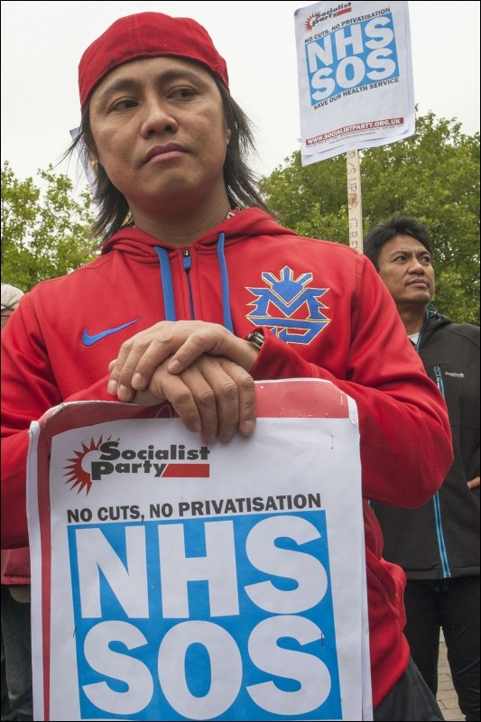 Socialist Party :: Build a movement to save our NHS