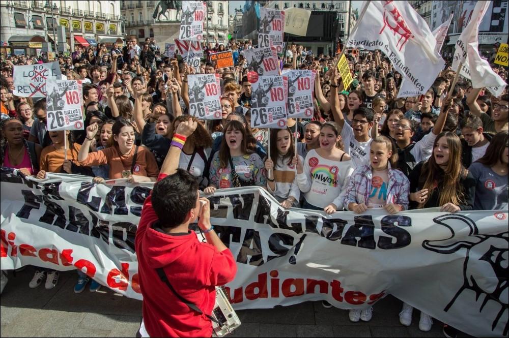 SPAGNA vittoria per il Sindicato de Estudiantes