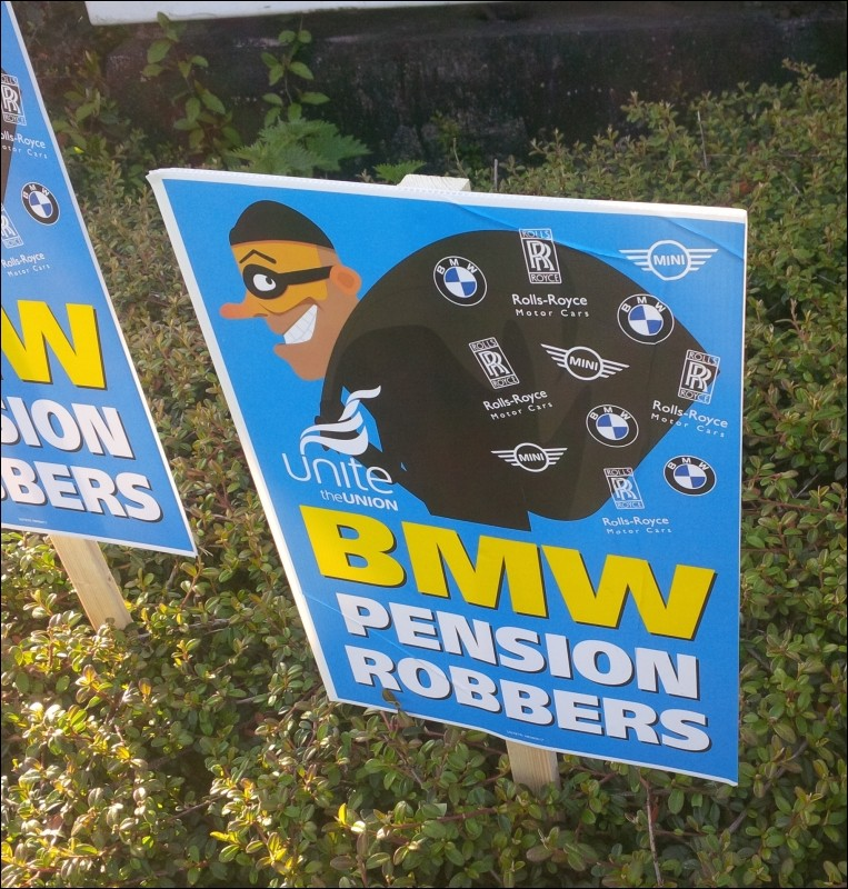 Bmwpensation: Socialist Party :: Workers Fight Back Against Race To The