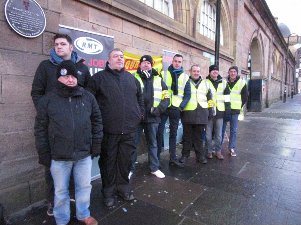 RMT Union rail strikes day two of three