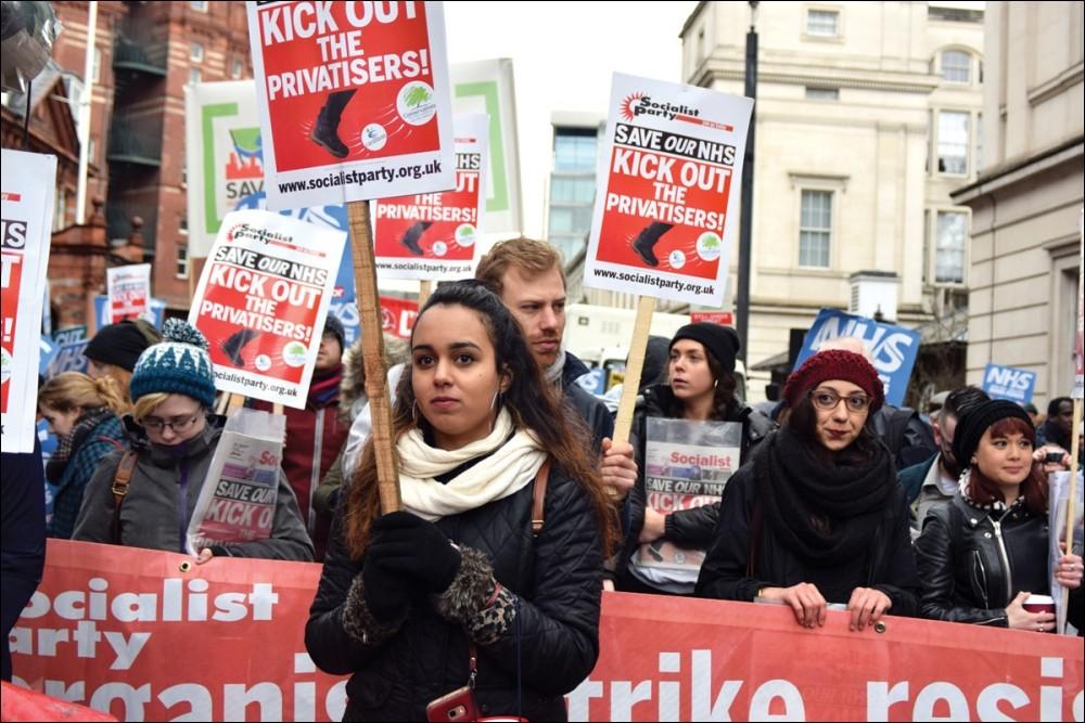 Socialist Party :: York NHS workers strike against privatisation