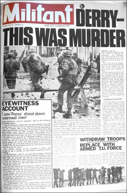 bloody sunday 1972 essay The bloody sunday in derry in 1972 essay - the bloody sunday in derry in 1972 in this essay i am going to try to explain what happened after 'bloody sunday ' and.
